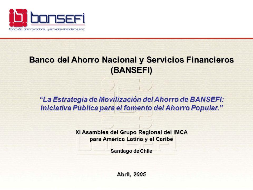 Banco del Ahorro Nacional y Servicios Financieros (BANSEFI)