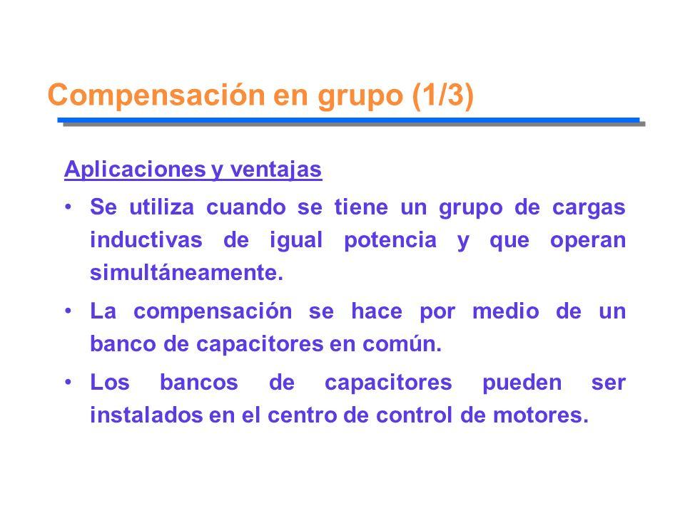 Compensación en grupo (1/3)