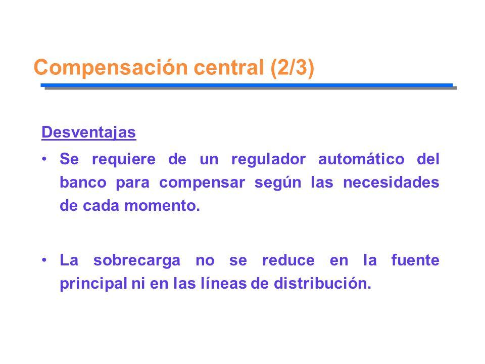Compensación central (2/3)