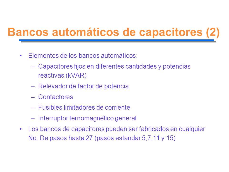 Bancos automáticos de capacitores (2)