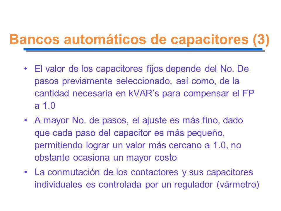 Bancos automáticos de capacitores (3)