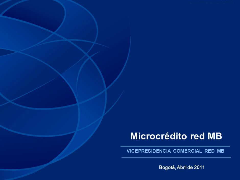 Microcrédito Red Megabanco