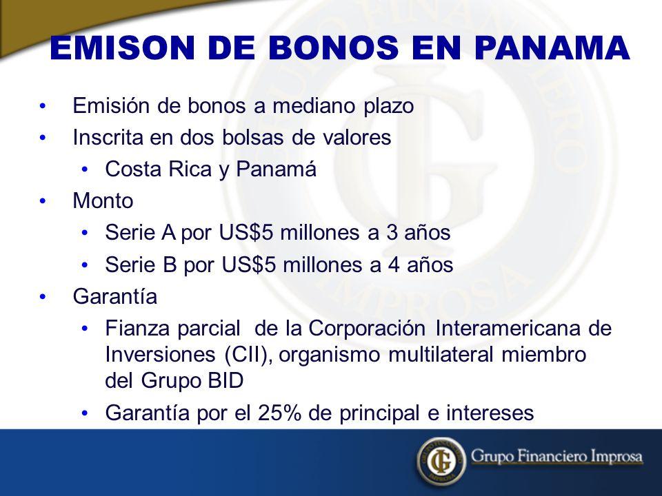 EMISON DE BONOS EN PANAMA