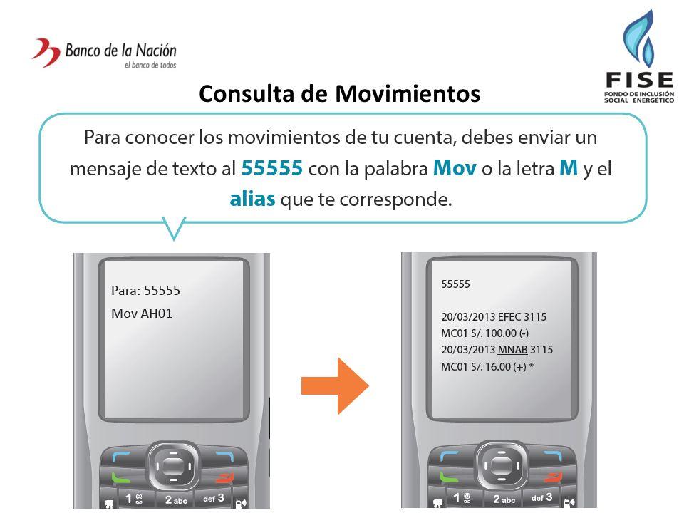 Consulta de Movimientos