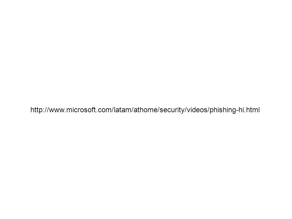 http://www. microsoft. com/latam/athome/security/videos/phishing-hi