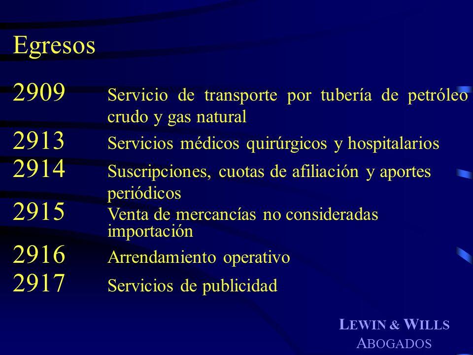 2913 Servicios médicos quirúrgicos y hospitalarios