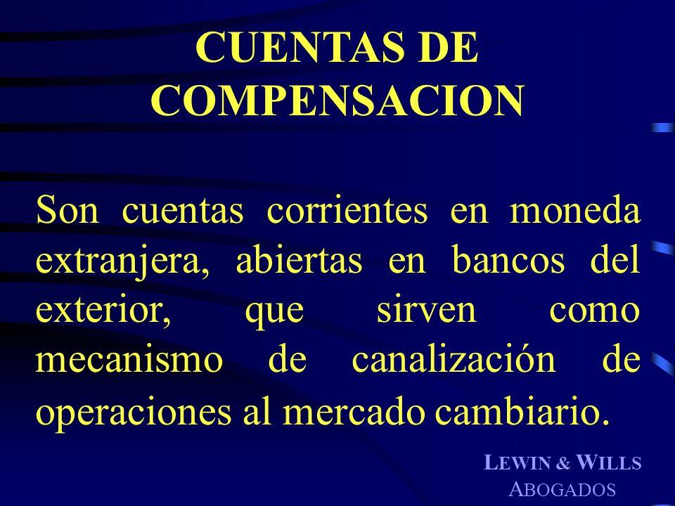 CUENTAS DE COMPENSACION