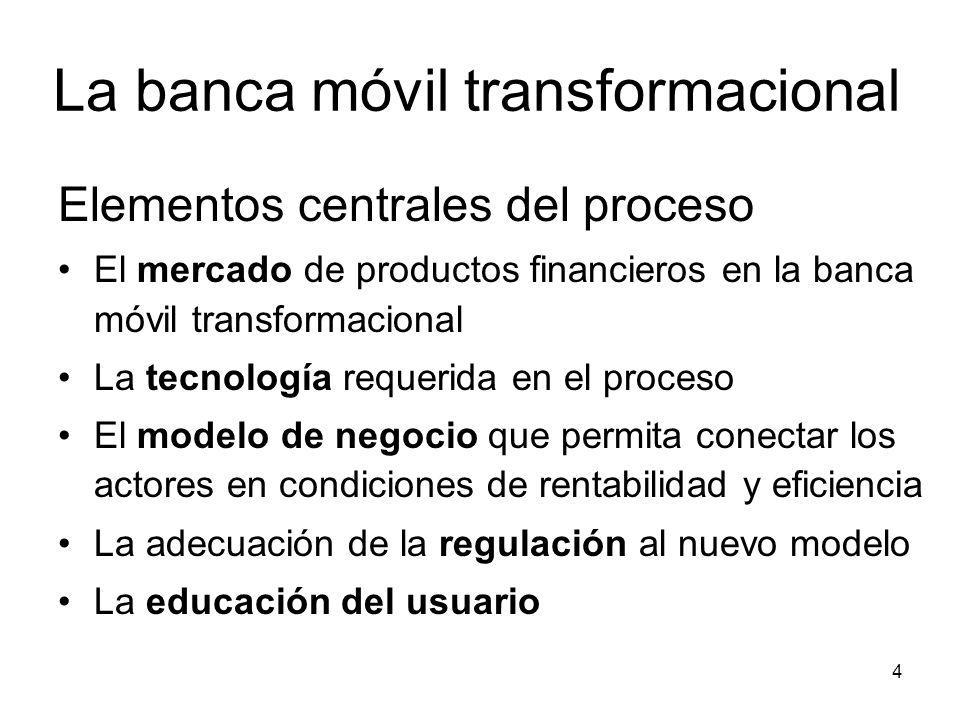 La banca móvil transformacional