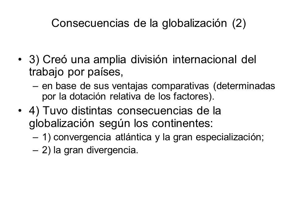 Consecuencias de la globalización (2)