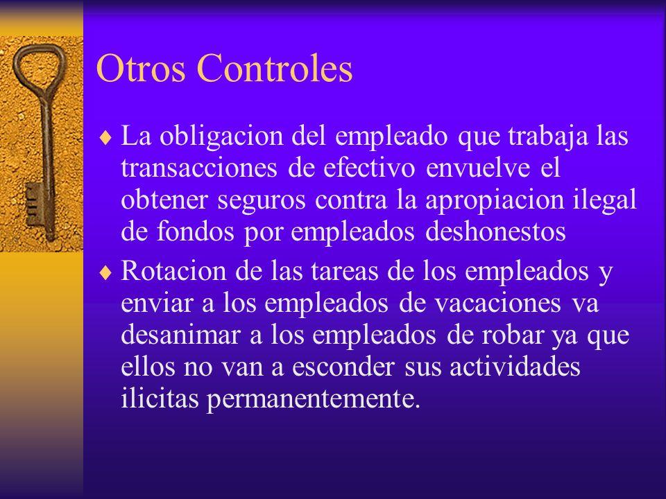 Otros Controles