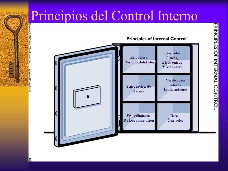 Principios del Control Interno