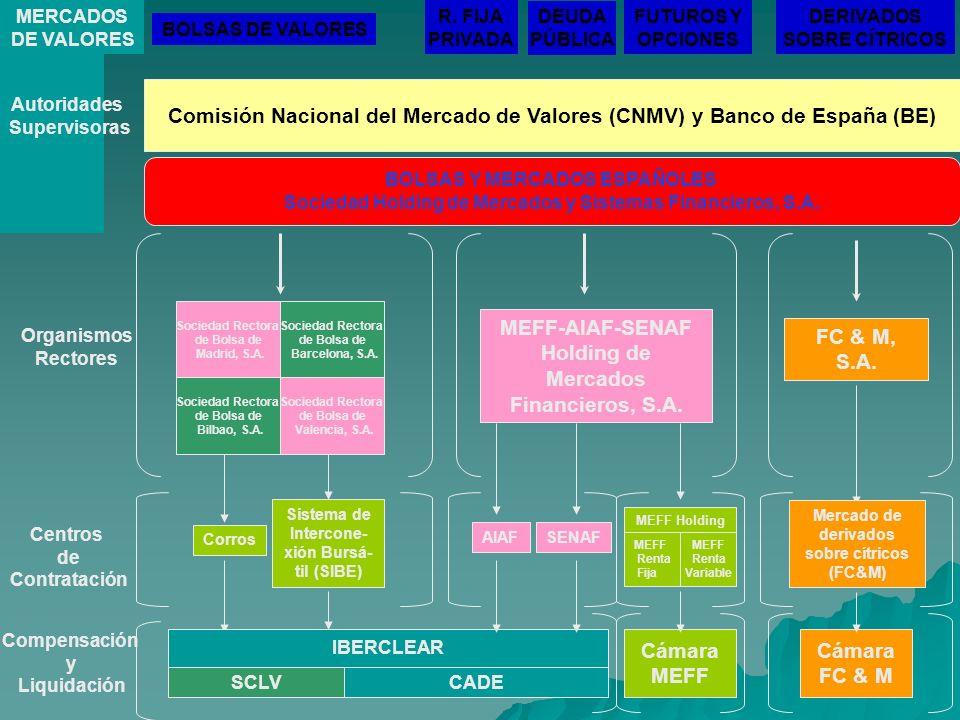 Comisión Nacional del Mercado de Valores (CNMV) y Banco de España (BE)