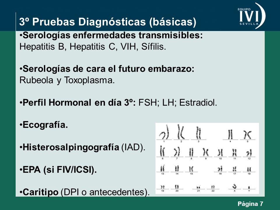 3º Pruebas Diagnósticas (básicas)