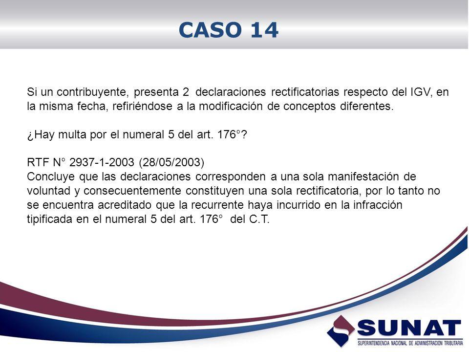 CASO 14