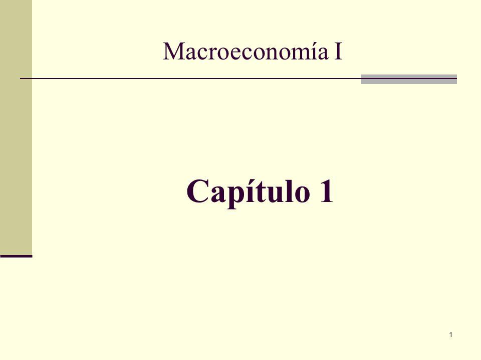 Macroeconomía I Capítulo 1