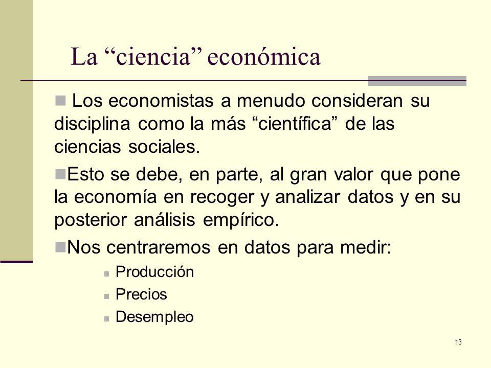 La ciencia económica