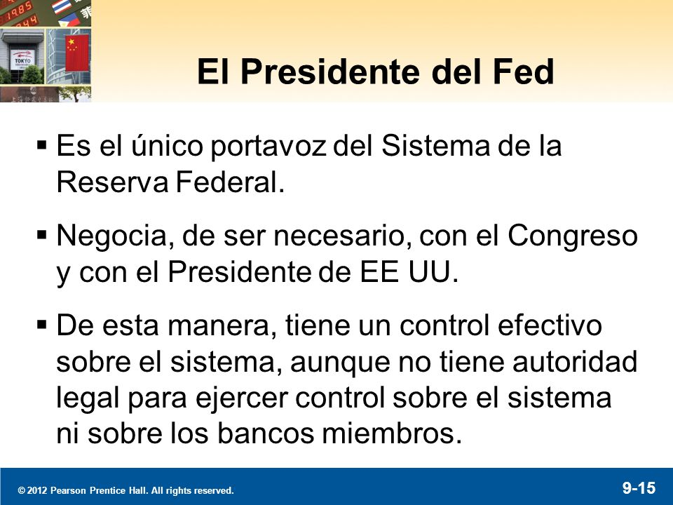 La Independencia de la Fed