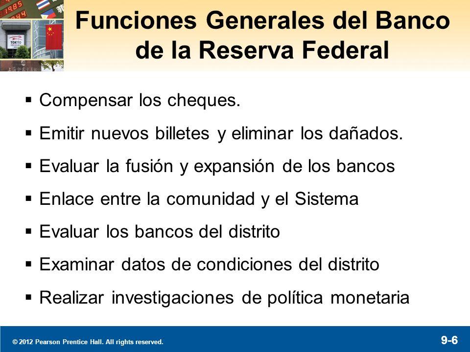 Funciones del BRF: Política Monetaria