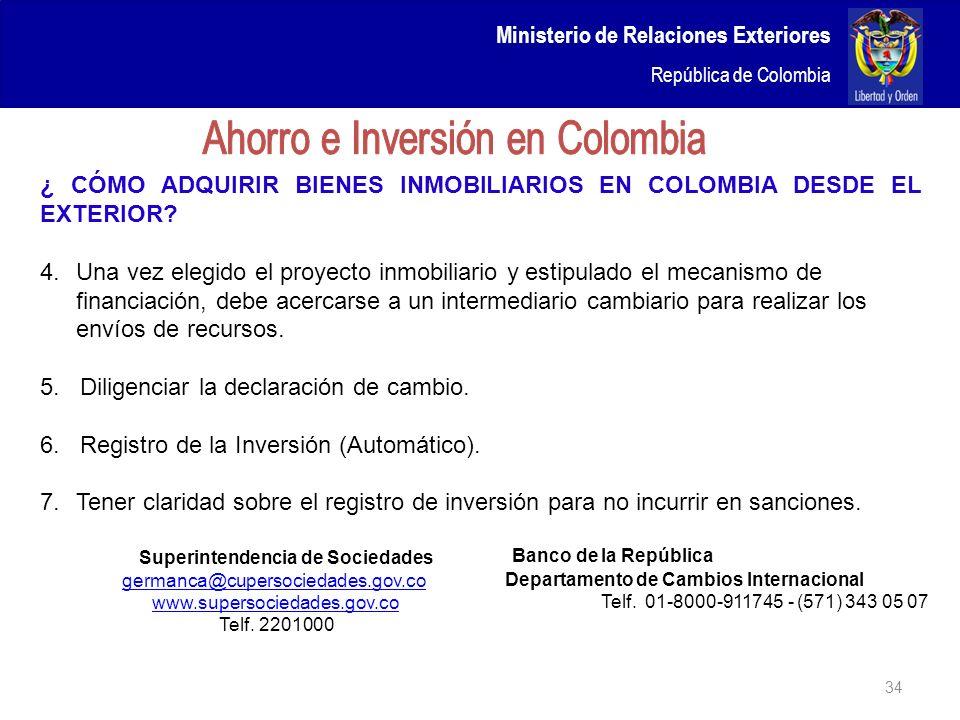 Ahorro e Inversión en Colombia