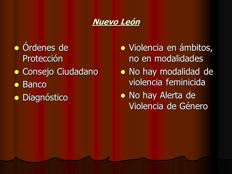 Violencia en ámbitos, no en modalidades