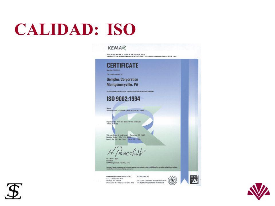 CALIDAD: ISO