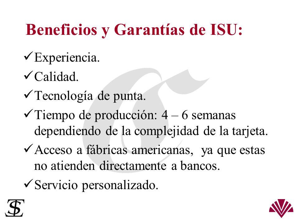 Beneficios y Garantías de ISU: