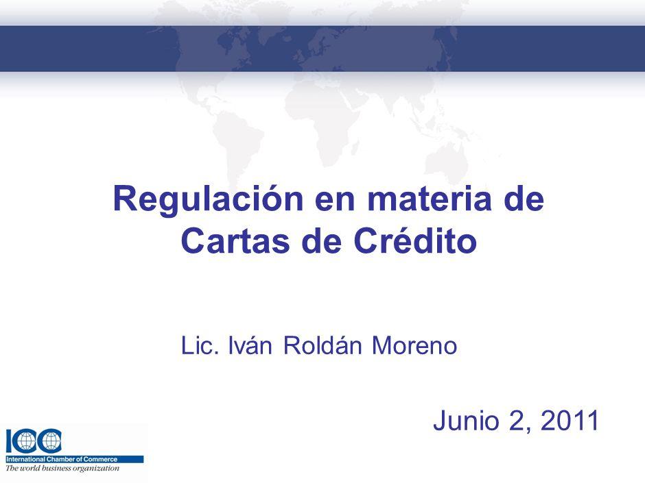 Regulación sobre Cartas de Crédito