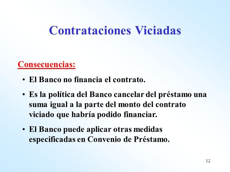Contrataciones Viciadas