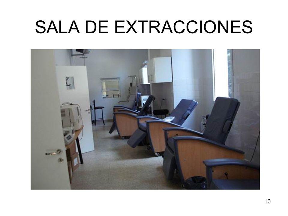 SALA DE EXTRACCIONES