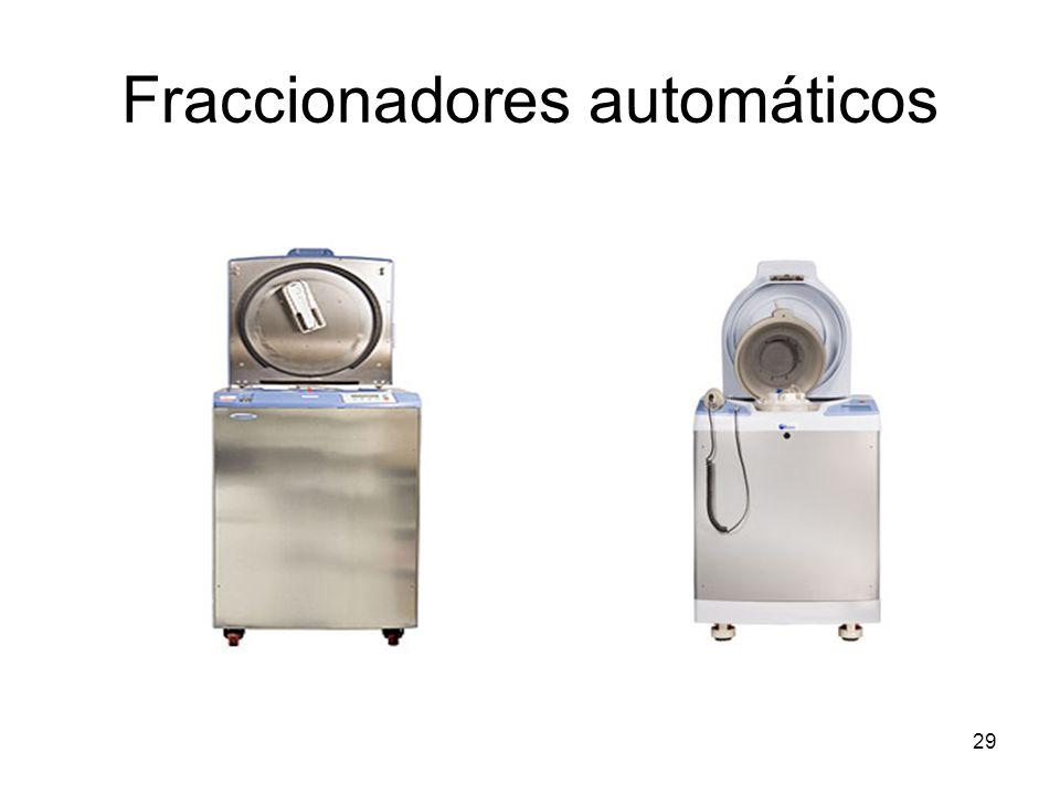 Fraccionadores automáticos