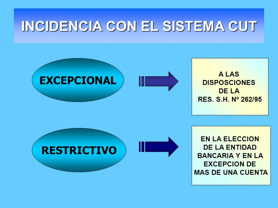 INCIDENCIA CON EL SISTEMA CUT