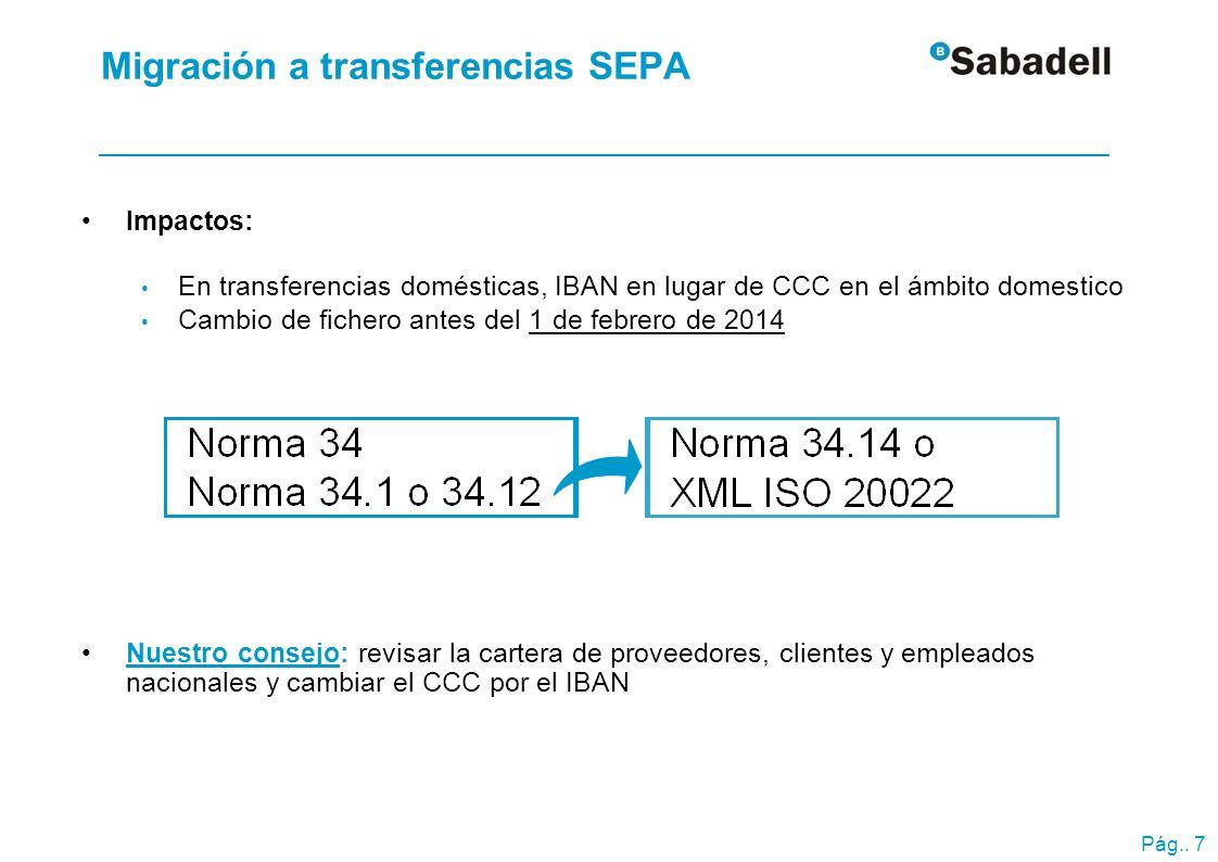 ¿Qué es un adeudo directo SEPA