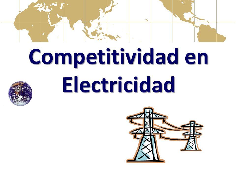 Competitividad en Electricidad