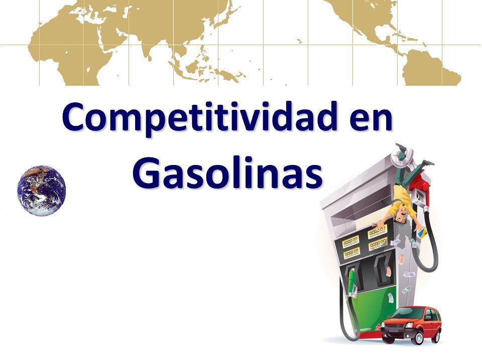 Competitividad en Gasolinas