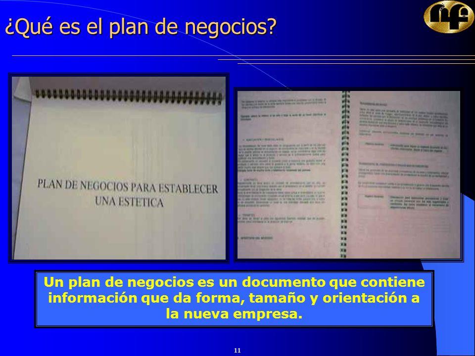 ¿Qué es el plan de negocios