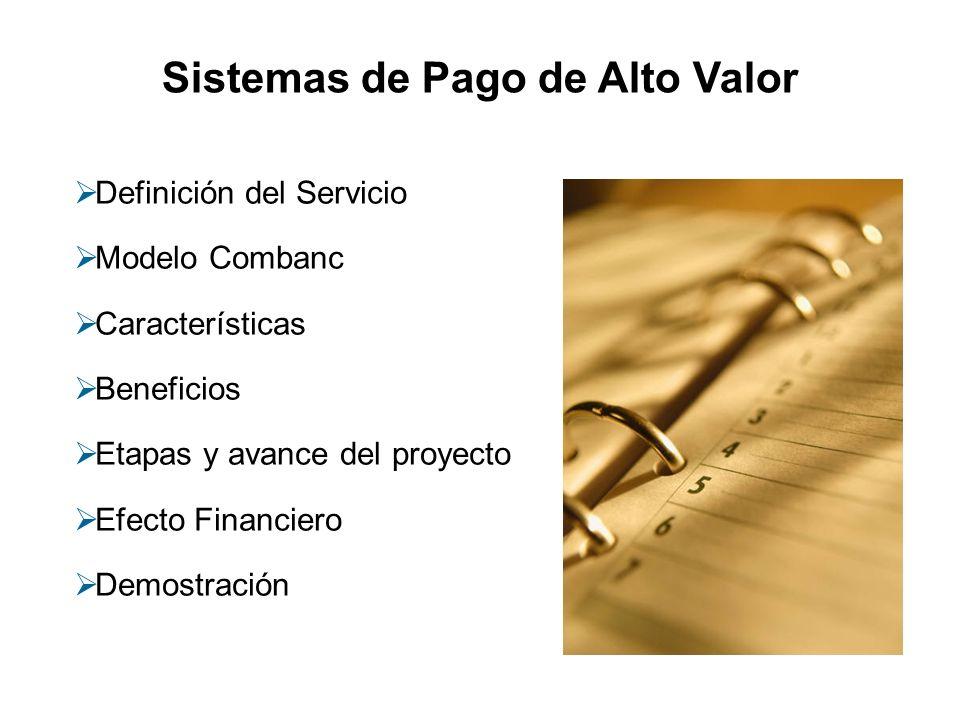 Sistemas de Pago de Alto Valor
