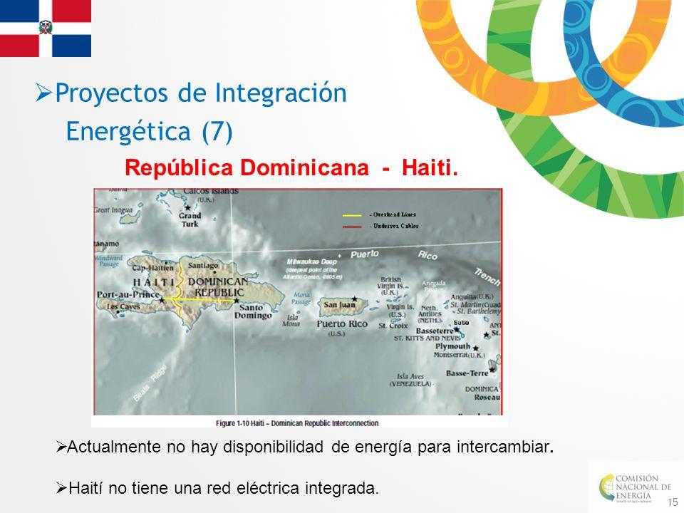 Proyectos de Integración Energética (7)