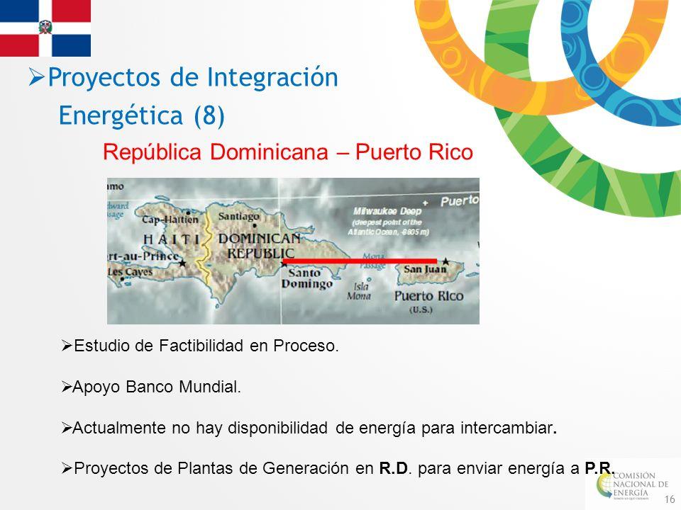 Proyectos de Integración Energética (8)