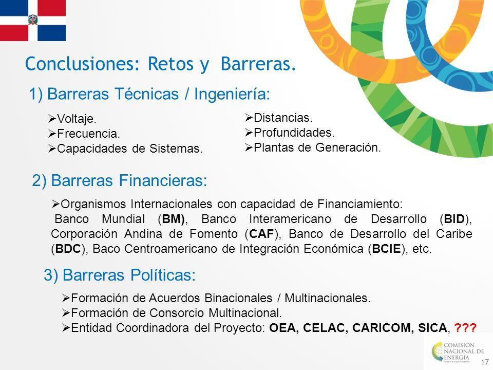 Conclusiones: Retos y Barreras.