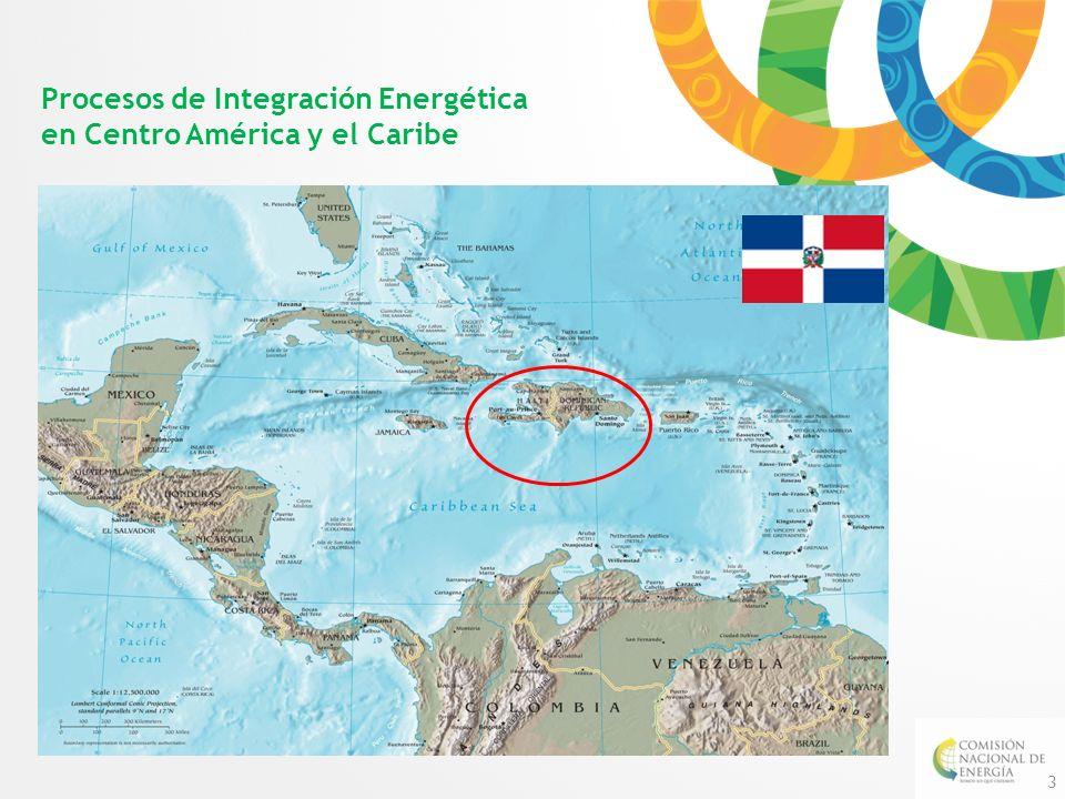 Procesos de Integración Energética en Centro América y el Caribe