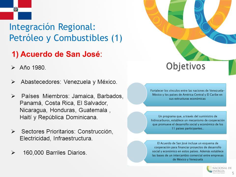 Integración Regional: Petróleo y Combustibles (1)