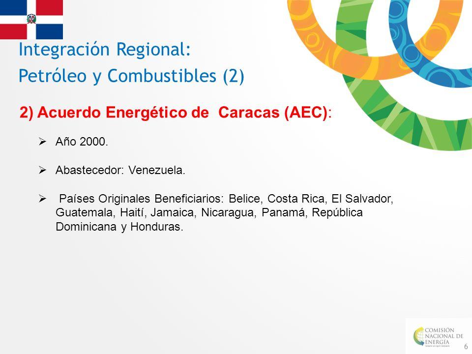 Integración Regional: Petróleo y Combustibles (2)
