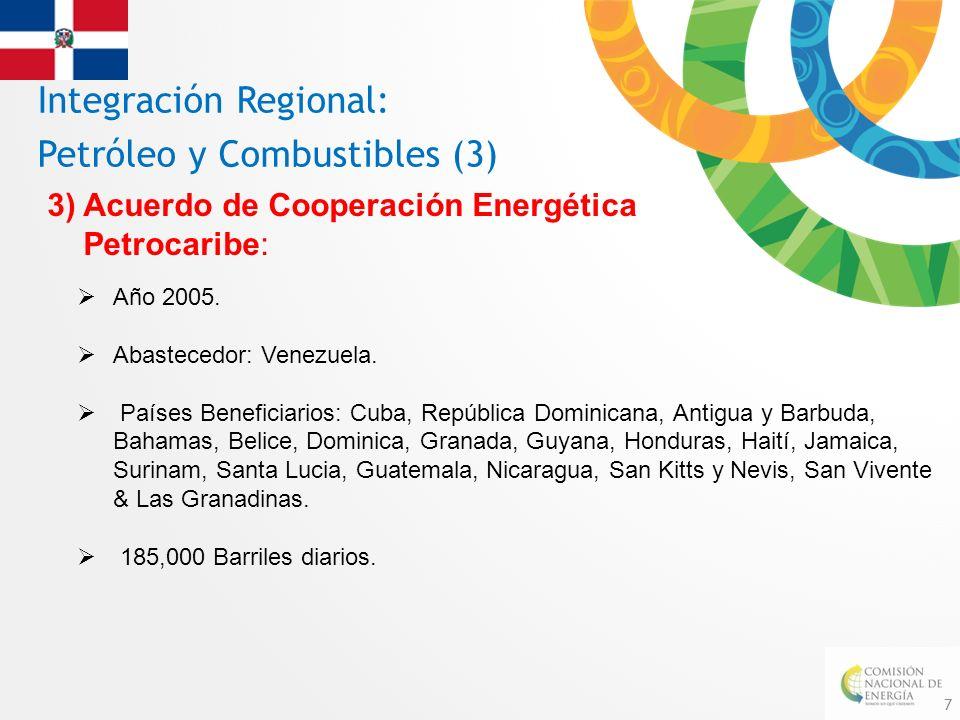 Integración Regional: Petróleo y Combustibles (3)