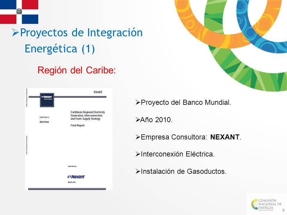 Proyectos de Integración Energética (1)