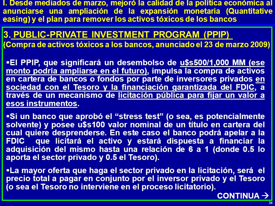 3. PUBLIC-PRIVATE INVESTMENT PROGRAM (PPIP)