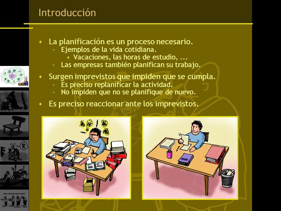 Introducción La planificación es un proceso necesario.