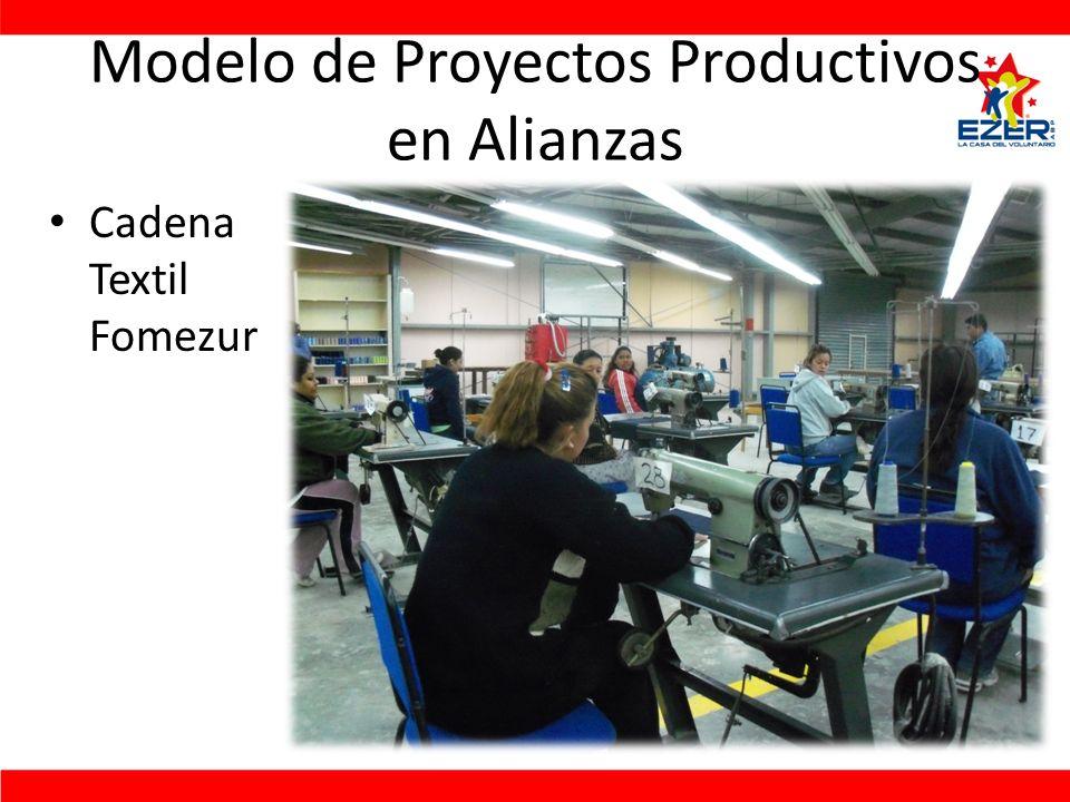 Modelo de Proyectos Productivos en Alianzas