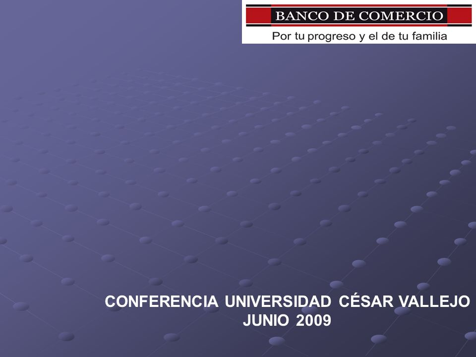CONFERENCIA UNIVERSIDAD CÉSAR VALLEJO