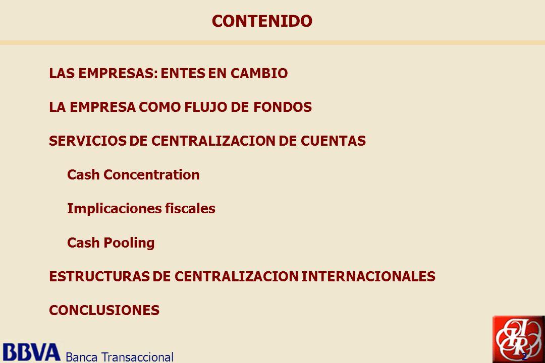 CONTENIDO LAS EMPRESAS: ENTES EN CAMBIO