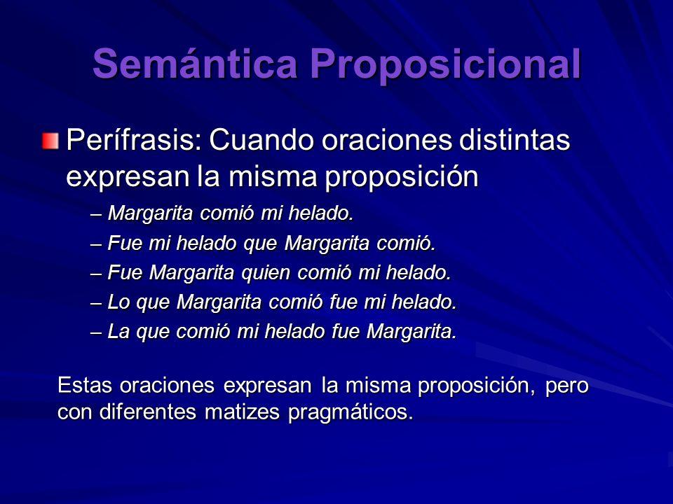 Semántica Proposicional